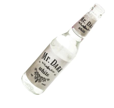 Custom bottle label header