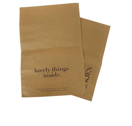 Custom paper mailing bags header