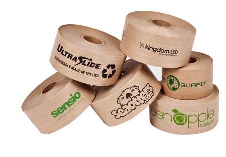 Custom paper tapes header