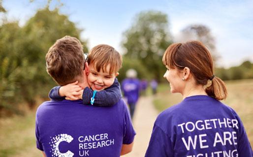 Cancer Research fun run shot