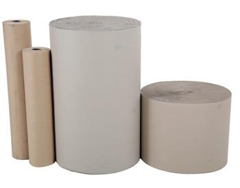 -Single Faced Corrugated Paper Rolls