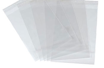 1-Clear Mailing Bags