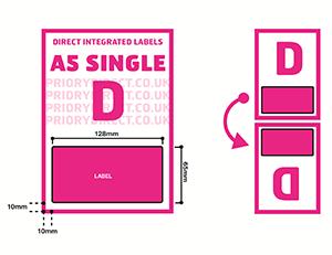 A5 Single D Icon