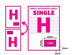 Single H Icon
