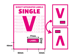 Single V Icon