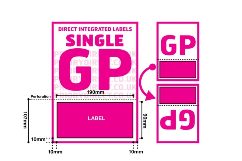 Single Integrated Label - Style GP