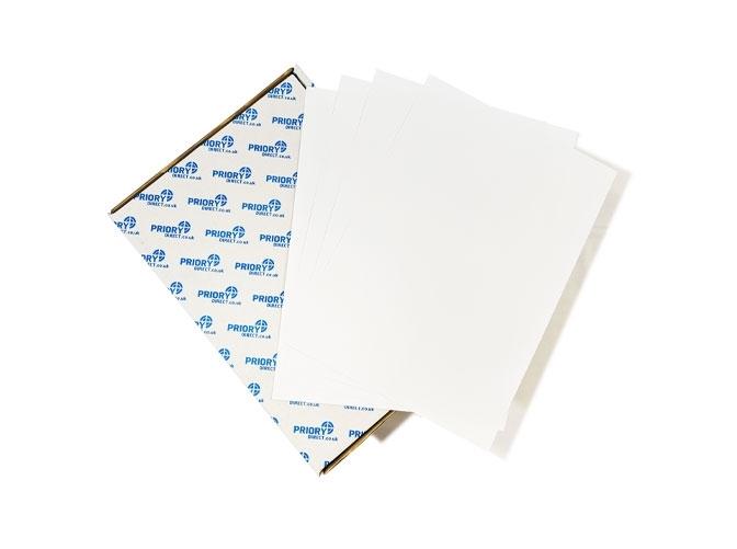 8 Per Sheet A4 Labels - Square Corners - 2