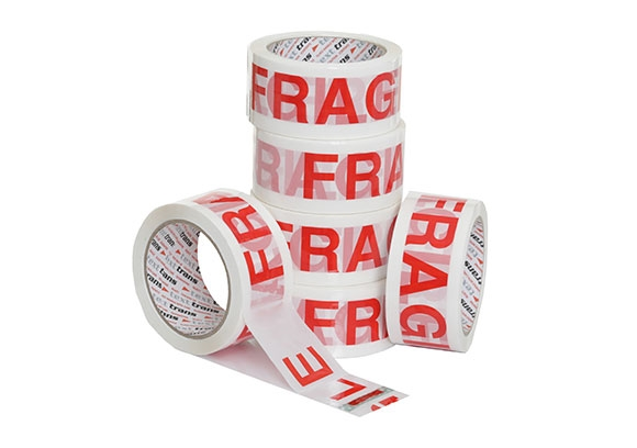 50mm x 66m Fragile Tape