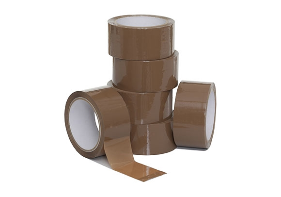 48mm x 66m Brown Packing Tape
