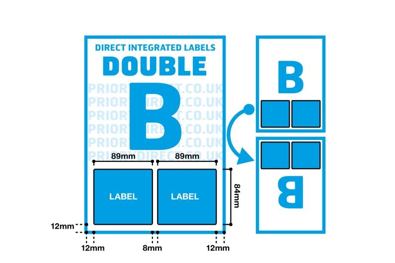 Double Integrated Label - Style B