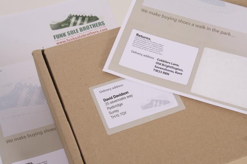 Double Integrated Label With Perforation - Style EP - 3