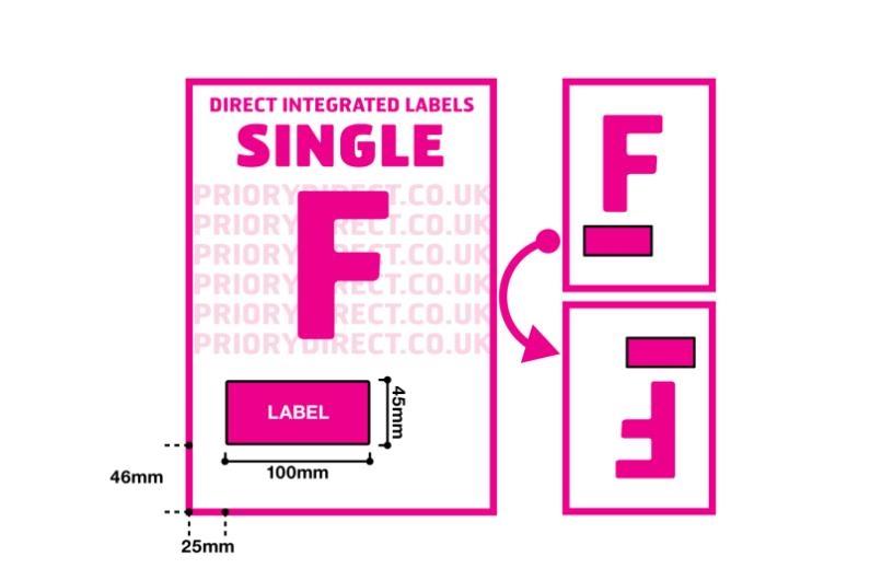 eBay Packing Slips - Single Style F