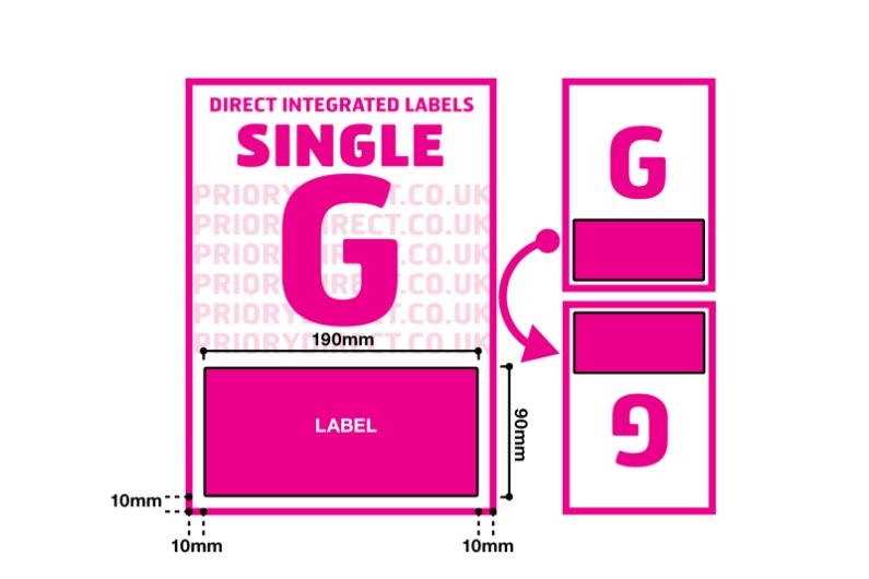 Single Integrated Label - Style G