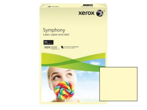 Xerox Symphony Paper - A4 Yellow Pastel Tint 80gsm