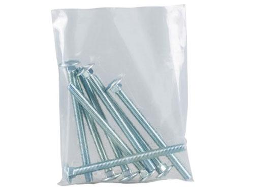 Heavy Duty Polythene Bags - Clear - 102x152mm