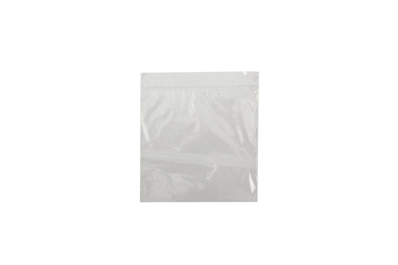 Polythene Grip Seal Bags - Clear - 187x187mm