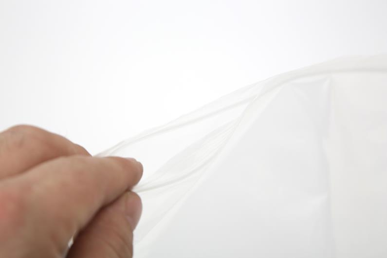 Polythene Grip Seal Bags - Clear - 187x187mm - 3