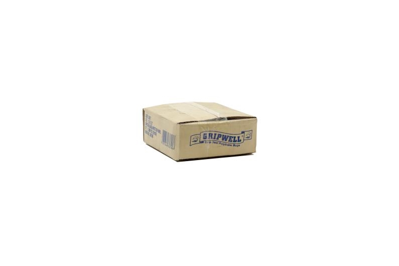 Polythene Grip Seal Bags with Write On Panels - Clear - 56x56mm - 2