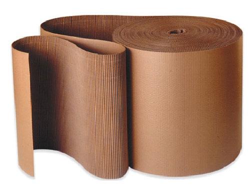 150mm x 75m Corrugated Cardboard Roll