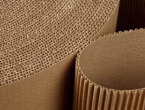150mm x 75m Corrugated Cardboard Roll - 2
