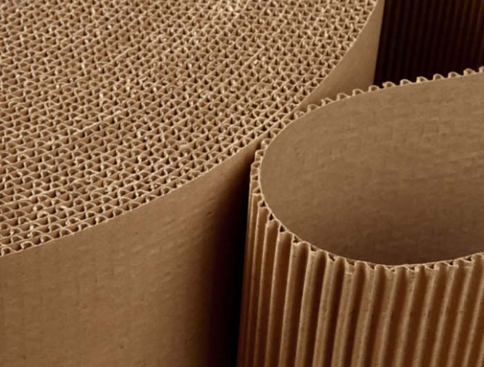 750mm x 75m Corrugated Cardboard Roll - 2