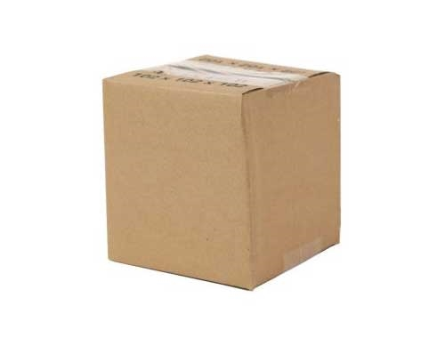 152 x 152 x 152mm Single Wall Cardboard Boxes - 3