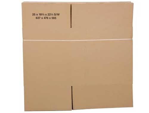 203 x 152 x 102mm Single Wall Cardboard Boxes - 2
