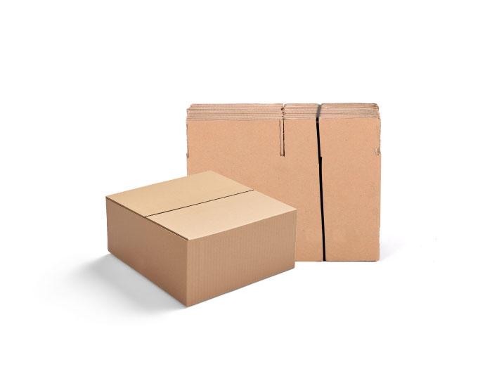 241 x 241 x 114mm Single Wall Cardboard Boxes - 5