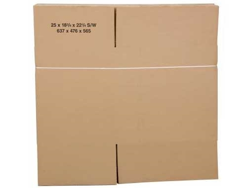229 x 229 x 229mm Single Wall Cardboard Boxes - 2