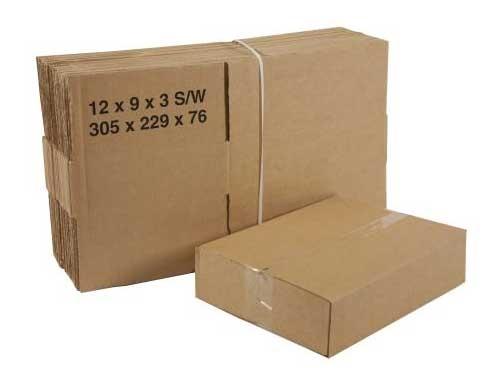 305 x 229 x 76mm Single Wall Boxes - 2