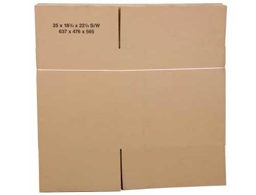 305 x 229 x 102mm Single Wall Cardboard Boxes - 2