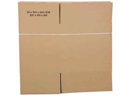 457 x 305 x 254mm Single Wall Cardboard Boxes - 2