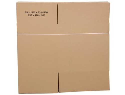 635 x 477 x 565mm Single Wall Cardboard Boxes - 2