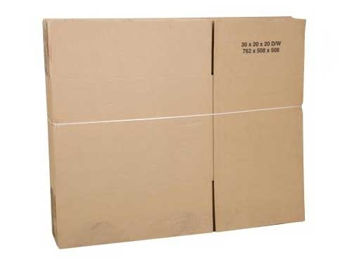 305 x 229 x 152mm Double Wall Cardboard Boxes