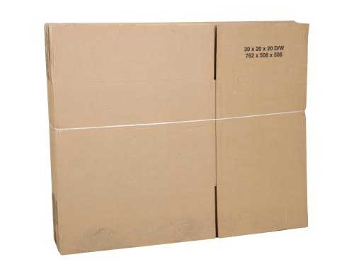 508 x 508 x 508mm Double Wall Cardboard Boxes - 2