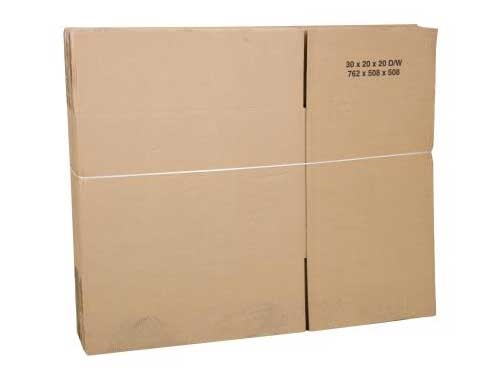 762 x 508 x 508mm Double Wall Cardboard Boxes - 2