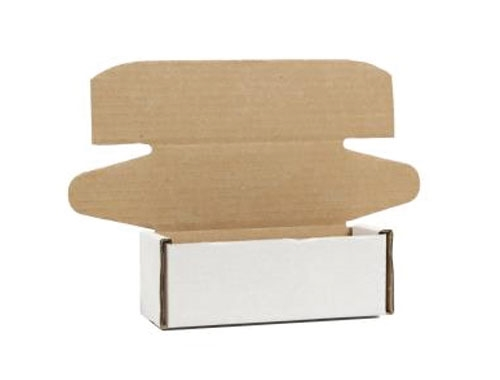 130 x 110 x 90mm White Postal Boxes - 3