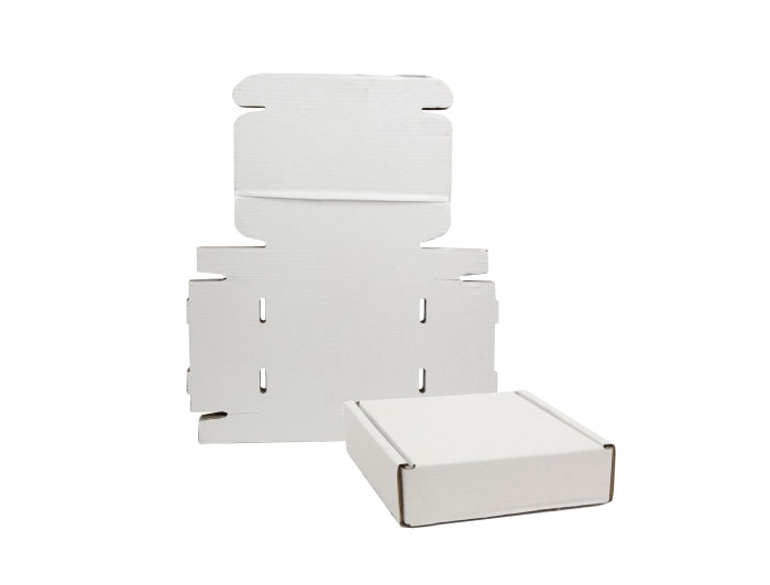 130 x 110 x 90mm White Postal Boxes - 5