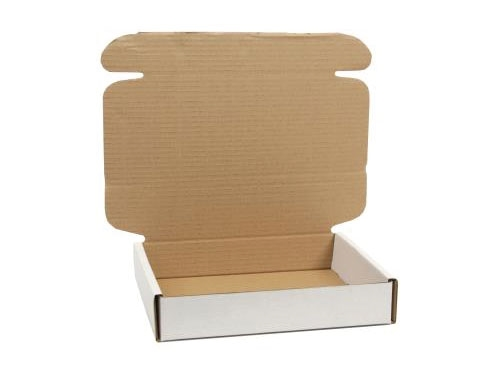 270 x 180 x 80mm White Postal Boxes - 4