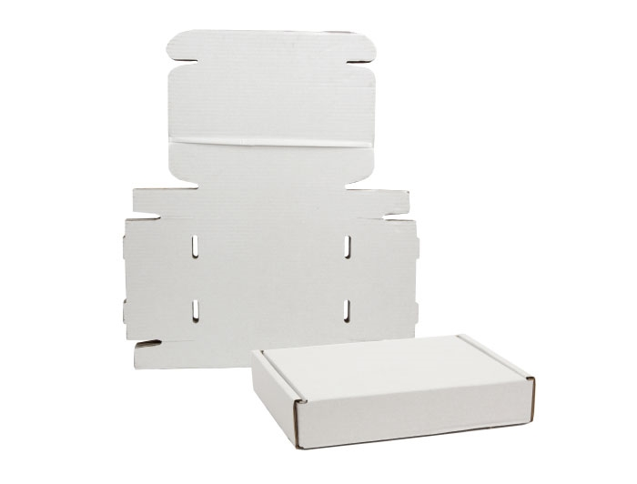 270 x 180 x 80mm White Postal Boxes - 5