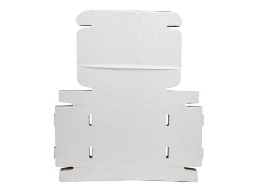 348 x 250 x 72mm White Postal Boxes - 2