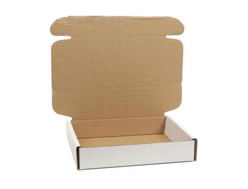 348 x 250 x 72mm White Postal Boxes - 3