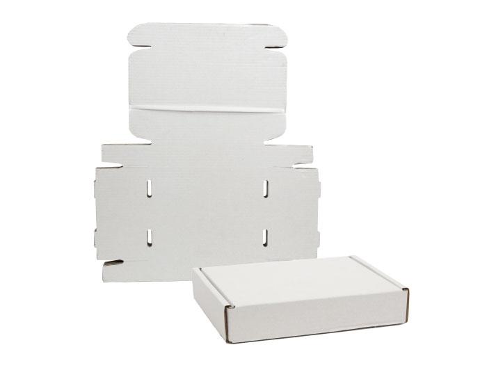 348 x 250 x 72mm White Postal Boxes - 5