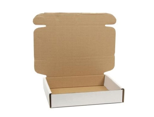 322 x 229 x 20mm White PIP Boxes - 4