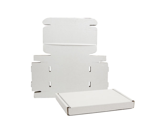 322 x 229 x 20mm White PIP Boxes - 5