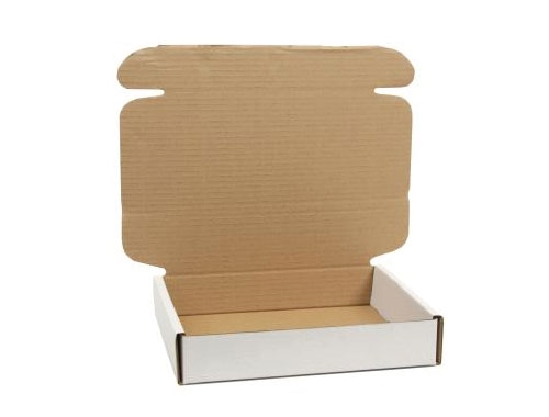 160 x 110 x 20mm White PIP Boxes - 4