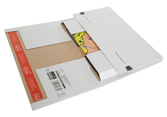 CP 037.54 - ColomPac Flexible Mailers - 350x260x70mm - 2