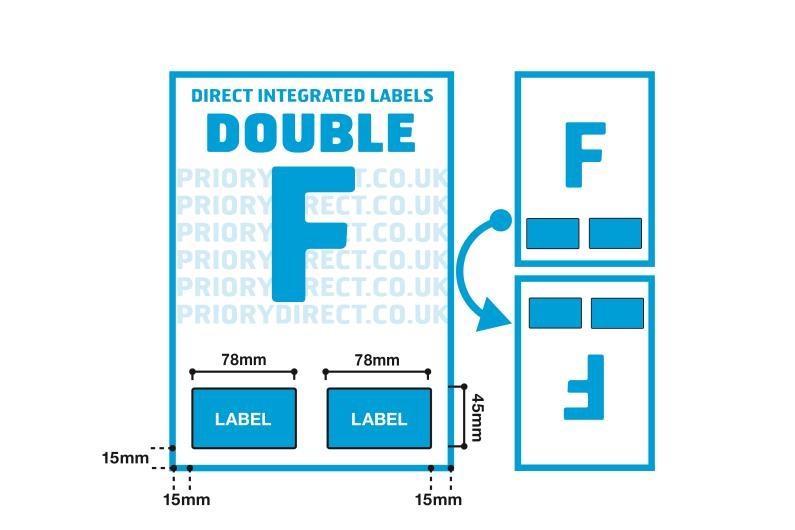 Double Integrated Label - Style F