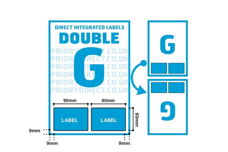 Double Integrated Label - Style G