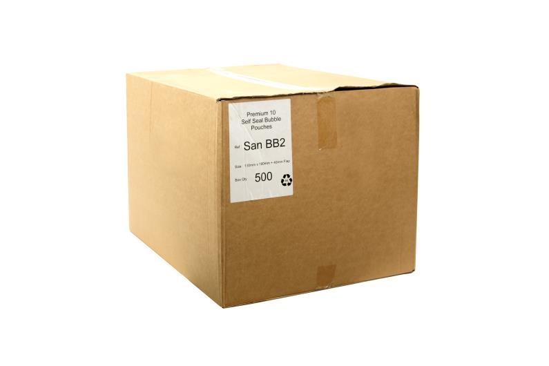 130 x 185mm Bubble Wrap Bags - 2